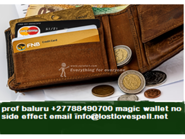 THE MAGIC WALLET THAT BRINGS MONEY FOR GENUINE POWERFUL