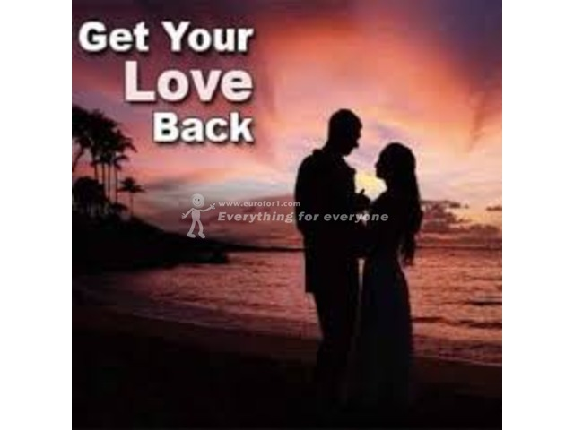 Return your lost love in few days by using my love spells +27630416728