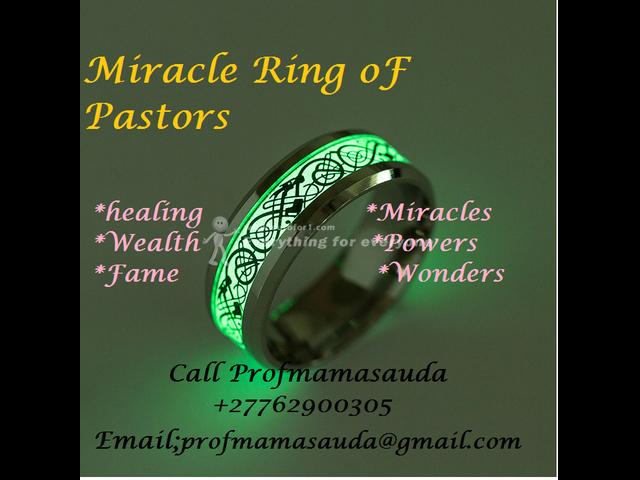 Miracle Magic Ring For Pastors Healing miracles and wonders Magic ring +27762900305