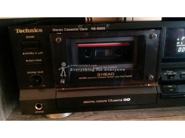 Sell top model cassette TECHNICS RS-B965