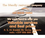 VARNA CAR RENTAL car hire, 6+1